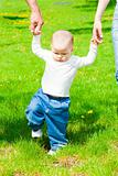 Baby walking