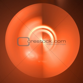 Abstract background. Orange palette.