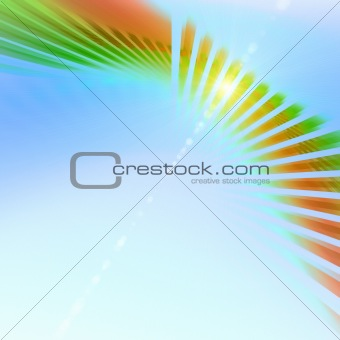 Abstract background. Multicolor palette.