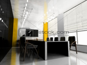Modern room for meetings