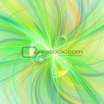 Abstract background. Yellow- green palette.