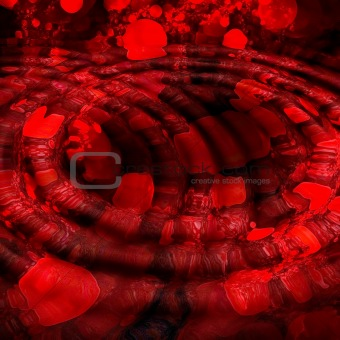 Abstract background. Red - black palette.