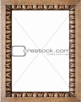 Carved Oak Picture Frame 4:3