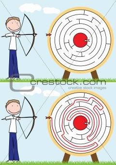 Archer maze