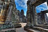 labirynth of bayon temple - Cambodia (HDR)