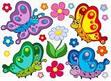 Cute butterflies collection 2
