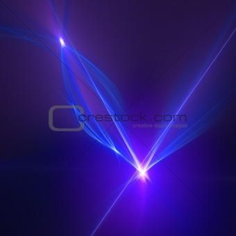 Abstract background. Blue - purple palette.