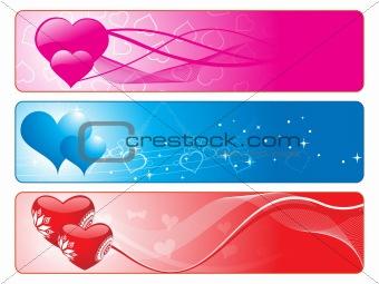 beautiful romantic love banner