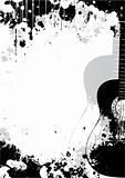 classical guitar poster background