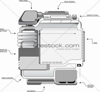 Site Design Template A