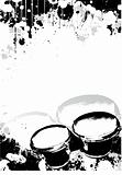 drums poster background