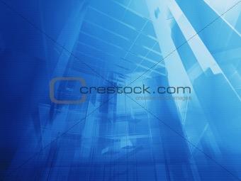 Architectural blue