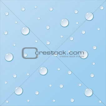 background with realistic drops