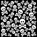 skulls background