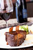 Braised Cumbrae&#39;s Short Rib served with Wine
