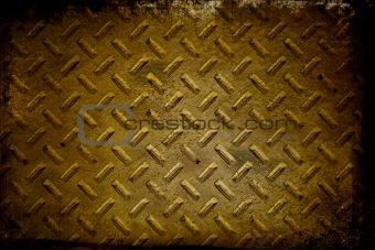 Grunge chrome rivets