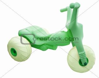 Green Toy Trike
