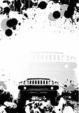 offroad poster background