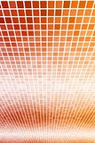 Orange Internet Abstract Background