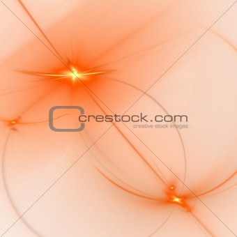 Abstract background. Orange - white palette.
