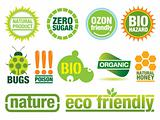 Environmental friendly labels