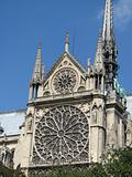 Notre Dame de Paris - detailed view