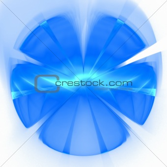 Abstract background. Blue - white palette.