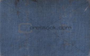Blue Linen Book Cover