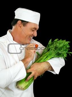 Celery Feeding Chef