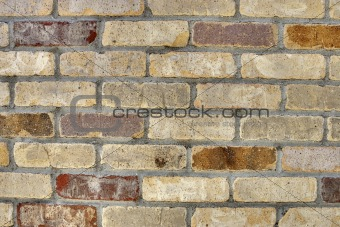 Aged Brick Close Up