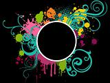 colorful grunge background