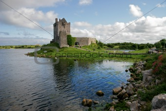 Dunguaire Castle. Ireland