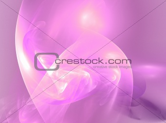 abstract pink electric glow