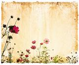 flower paper textures