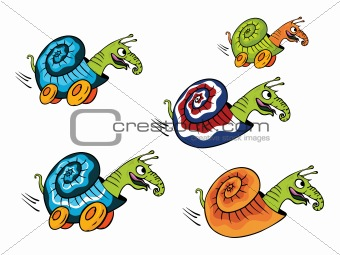 crazy snail runner