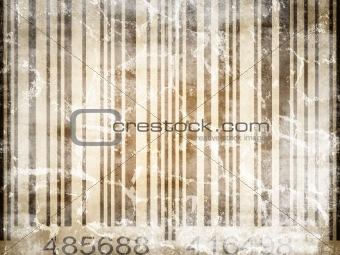 old vintage barcode