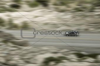 a mountain drive