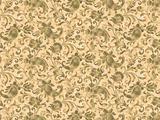 Retro stylized wallpaper