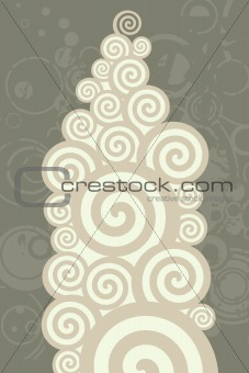 Abstract circles illustration