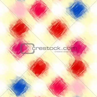 painted checkered pattern