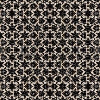 metal victorian star pattern