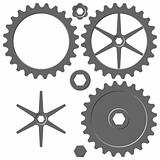 Cogwheel elements