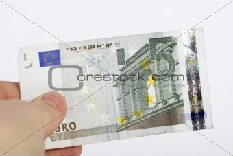 Five Euro Banknote