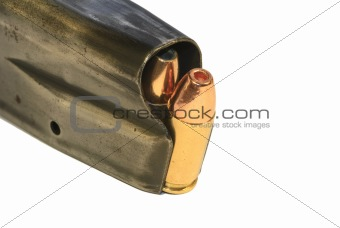 9mm bullets in a maagazine