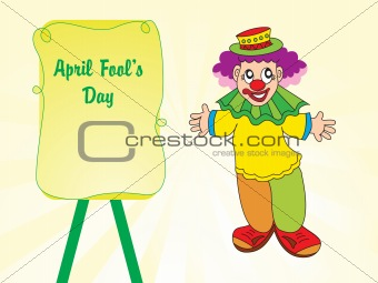 abstract fools day background
