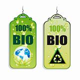 Recycling Green Tag Icons