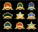 Retrò Vintage Emblems - Set 1