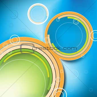 abstract vector background design, easy to edit