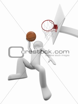 Basketball slamdunk 1