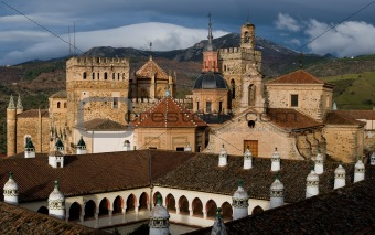 Royal Monastery of Santa Maria de Guadalupe. Caceres, Spain
